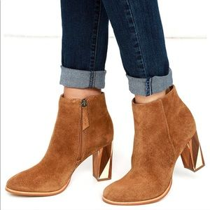 7745c4505de Urban Outfitters Shoes | Brady Black Low Heel Otk Thigh High Boots ...